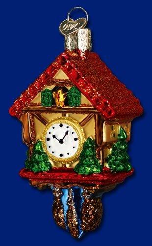 Cuckoo Clock Christmas Ornament