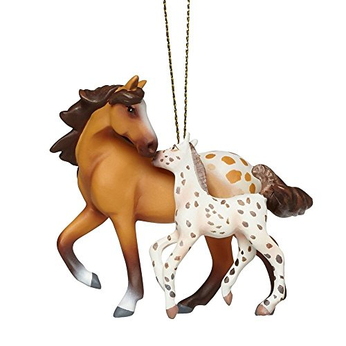 Enesco Trail of Painted Ponies a Star is Born Ornament, 2.5″