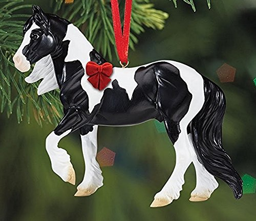 BREYER GYPSY VANNER – BEAUTIFUL BREEDS ORNAMENT – 2016 HOLIDAY HORSE – LIMITED EDITION