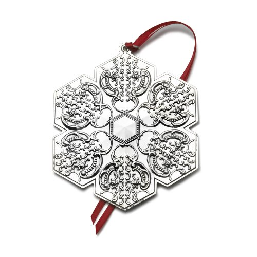 Wallace 2010 Grande Baroque Snowflake Ornament (13th Edition)