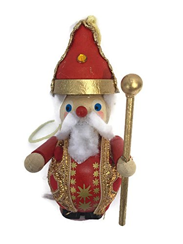 Retired Steinbach Christmas Tree Ornament Handmade German Wiseman King