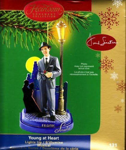 Frank Sinatra – Young At Heart 2005 Carlton Cards Musical Christmas Ornament