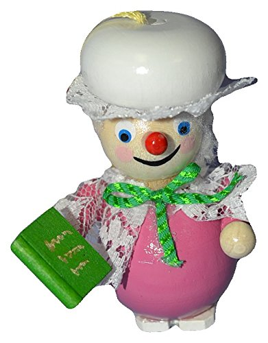 Steinbach Handmade Wooden Ornament from Germany Mrs. Claus