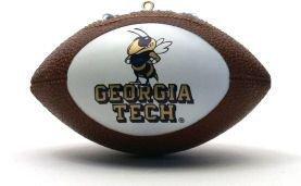Georgia Tech Yellow Jackets Ornaments Football – Licensed NCAA Sports Gift