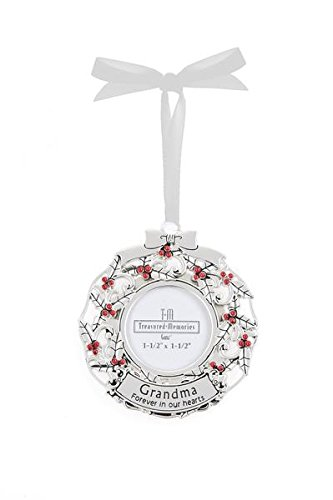 GANZ Memorial Photo Ornament, Grandma, Zinc – EX27553
