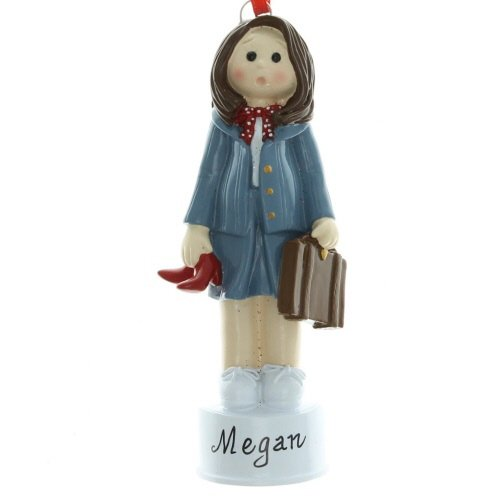 Business Woman Personalized Christmas Tree Ornament