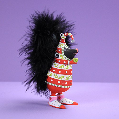 Patience Brewster Spring Home Decor Mini Sal Skunk Ornament