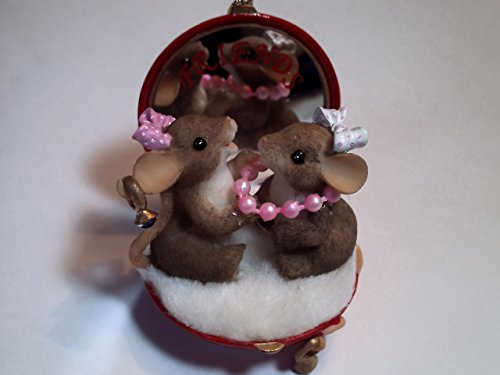 Charming Tails Being Friends is a Beautiful Thing Ornament