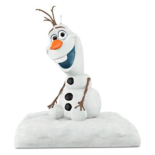 Disney Frozen Christmas Ornament Olaf Peekbuster Hallmark Keepsake Ornament