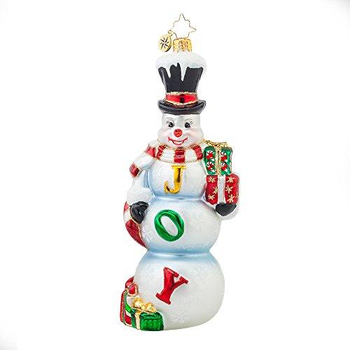 Christopher Radko Frosty Joy Christmas Ornament