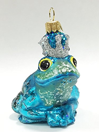 Ornaments to Remember: FROG PRINCE Christmas Ornament