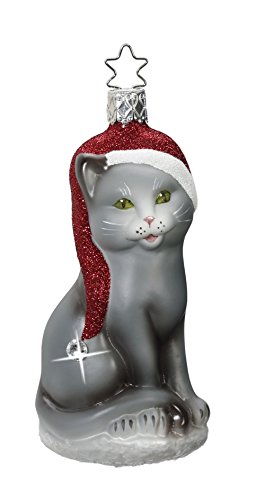 Meow Christmas , #1-003-16, from the 2016 Limited Editions Collection by Inge-Glas Manufaktur; Gift Box Included