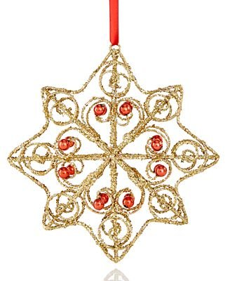 Holiday Lane Wire Snowflake Ornament