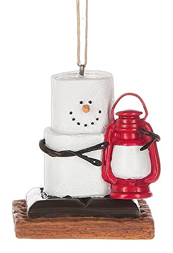 Midwest CBK S'mores with Lantern Holiday Christmas Ornament