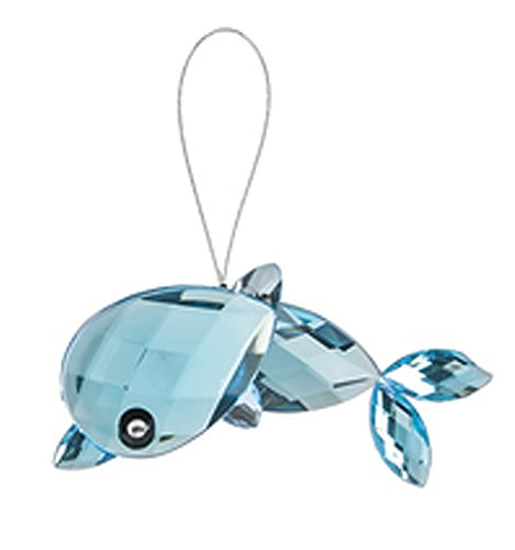 Crystal Expressions Light Blue Colored Dolphin Sea Life Ornament – By Ganz