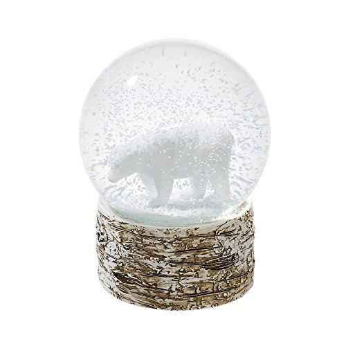 Talking Tables NORDIC-SNOWGLOBE Nordic Christmas Polar Bear Snowglobe, White