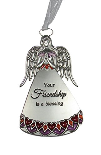 Ganz Love and Blessings Hanging Angel Ornament – Your Friendship Is A Blessing