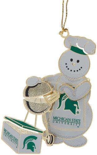 ChemArt Michigan State Tailgater Ornament
