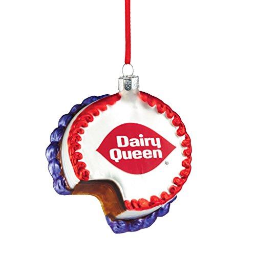 Department 56 Dairy Queen Ice Cream Cake Ornament, 4″