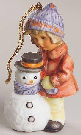 "Berta Hummel ""A Gift for Snowman"" Ornament – 1998"