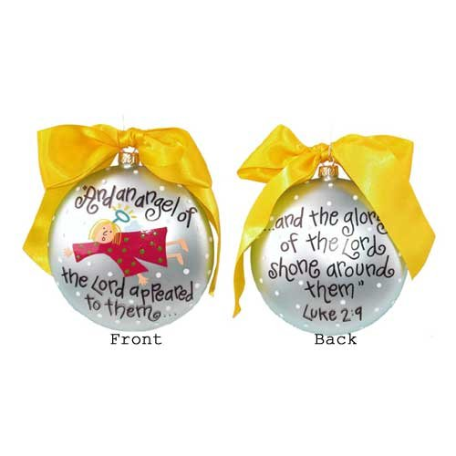 Angle of the Lord Ornament by Coton Colors LUKE-2-9