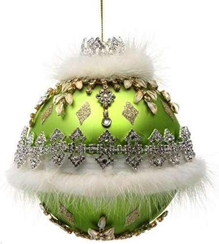 Mark Roberts Kings Jewels Glass Christmas Ornament 5 inch 36-60262