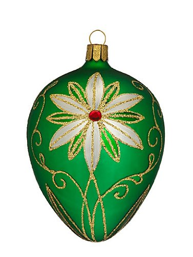 Waterford Holiday Heirlooms Traditional Emerald Egg Ornament – Waterford