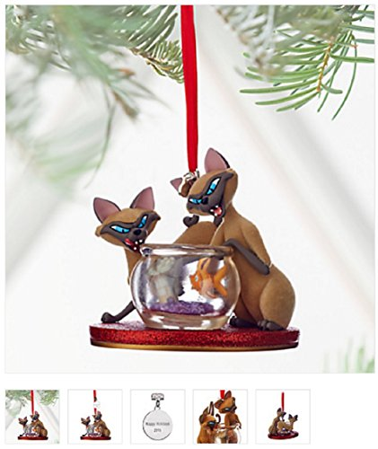 Disney 2016 Si & Am Sketchbook Ornament, Lady and the Tramp