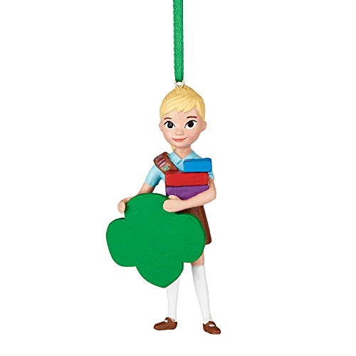 Department 56 Girl Scouts of America by Scout Brownie Enterpreneur Ornament 3.5 In