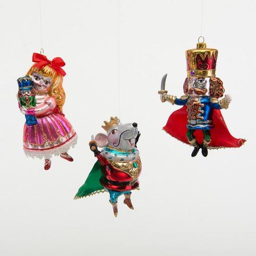 Nutcracker Suite Ornaments By One Hundred 80 Degrees (Set of 3)