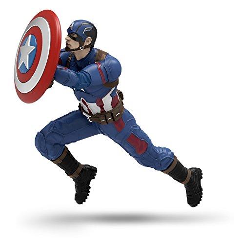 Captain America: Civil War Christmas Ornament Team Captain America Hallmark Keepsake Ornament