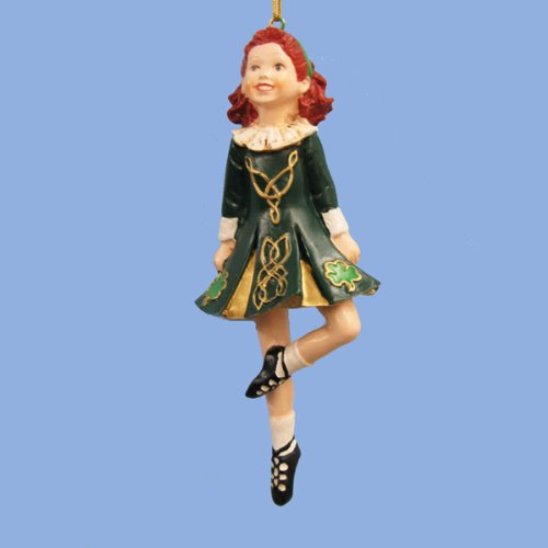 DANCING IRISH GIRL ORNAMENT – Christmas Ornament