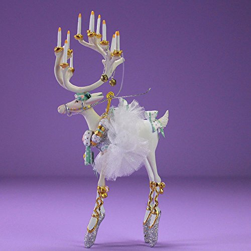 Patience Brewster Christmas Home Decor Moonbeam Mini Reindeer Ornament – Dancer