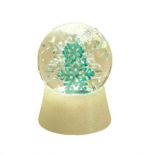 Midwest CBK Lighted LED Snowflake Mini Shimmer Snowglobe
