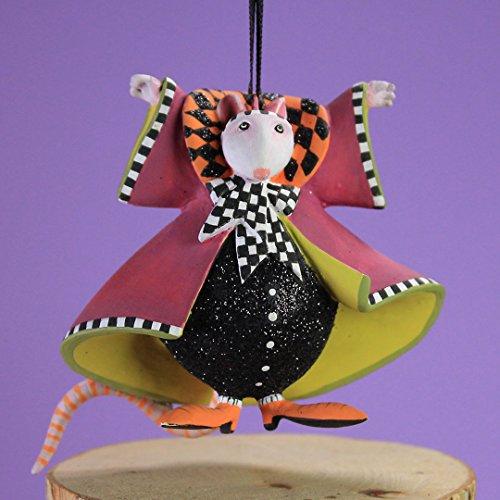 Patience Brewster Halloween Home Decor Mini Mrs. Ratula Ornament 31038