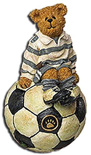 Boyds Soccer Bear Striker Soccer Christmas Ornament