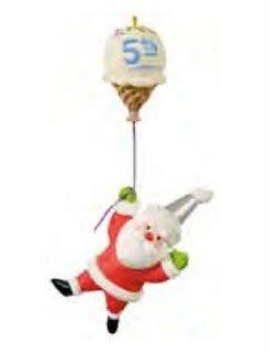 Five Sweet Years Santa's Sweet Ride 2011 Hallmark Ornament