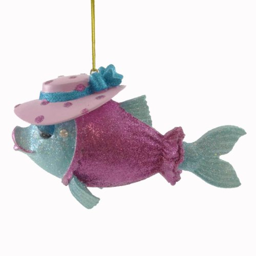 Missy Fishy Holiday Ornament from December Diamonds, 55-90920
