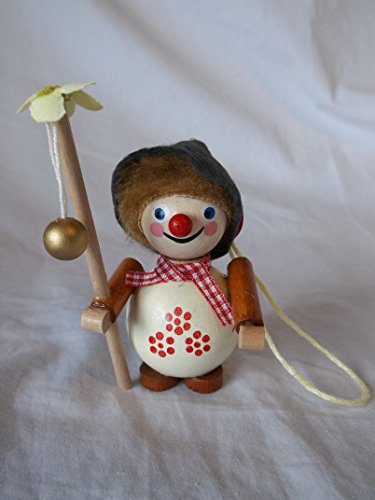 Steinbach Gm Bh Christmas Decorations ,Gifts and Ornaments Handmade in Germany Wooden Flower Fisherman Ornament