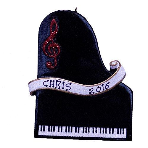 Personilized Piano Christmas Ornament-Free Personlization