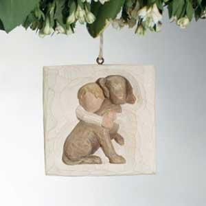 Hug Ornament