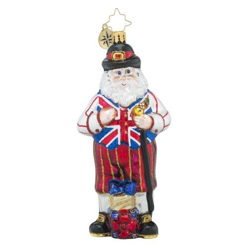 Christopher Radko UK Knickers Destination Santa Claus Christmas Ornament