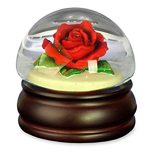 Red Rose Mushroom – Water Globe