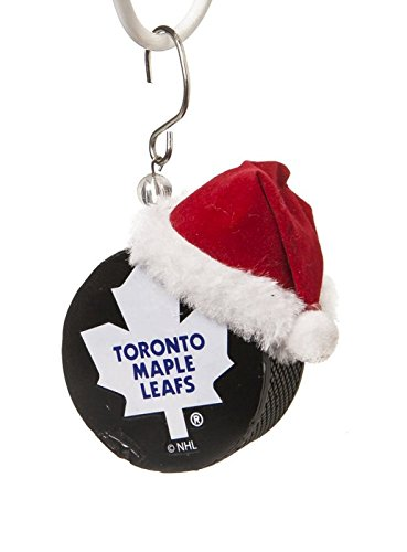 Toronto Maple Leafs Puck Christmas Ornament