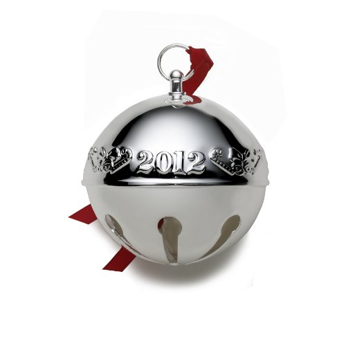 Wallace 2012 Sterling Silver Sleigh Bell Ornament, 18th Edition