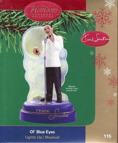 Frank Sinatra – Ol' Blue Eyes 2004 Carlton Cards Musical & Magical Christmas Ornament