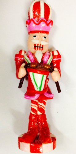 Martha Stewart 7″ Nutcracker Drummer Christmas Ornament