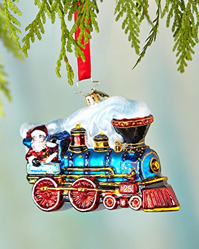 Christopher Radko – Winter Express – Heirloom Collectable Christmas Ornament