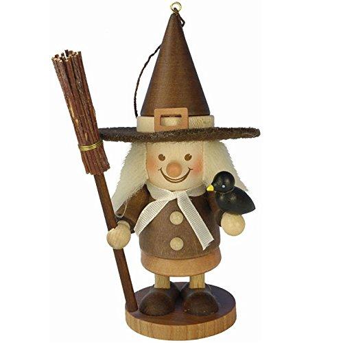 "13-0708 – Christian Ulbricht Ornament – Witch – 4.5″""H x 2″""W x 2″""D"