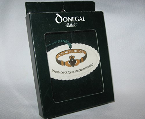 Donegal Belleek Claddah Ornament